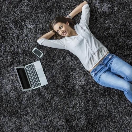 Black comfortable carpet | Masters And Petersens Flooring