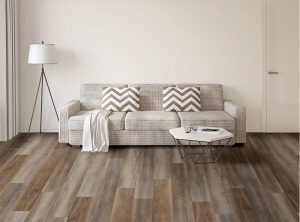 Vinyl flooring with chevron pillows | Masters And Petersens Flooring