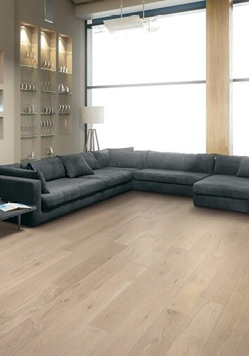 Modern living room wih Vinyl flooring | Masters And Petersens Flooring