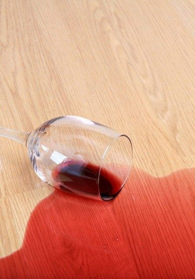 Wine stain cleaning | Masters And Petersens Flooring
